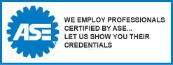 ASE Certified Auto Repair Services