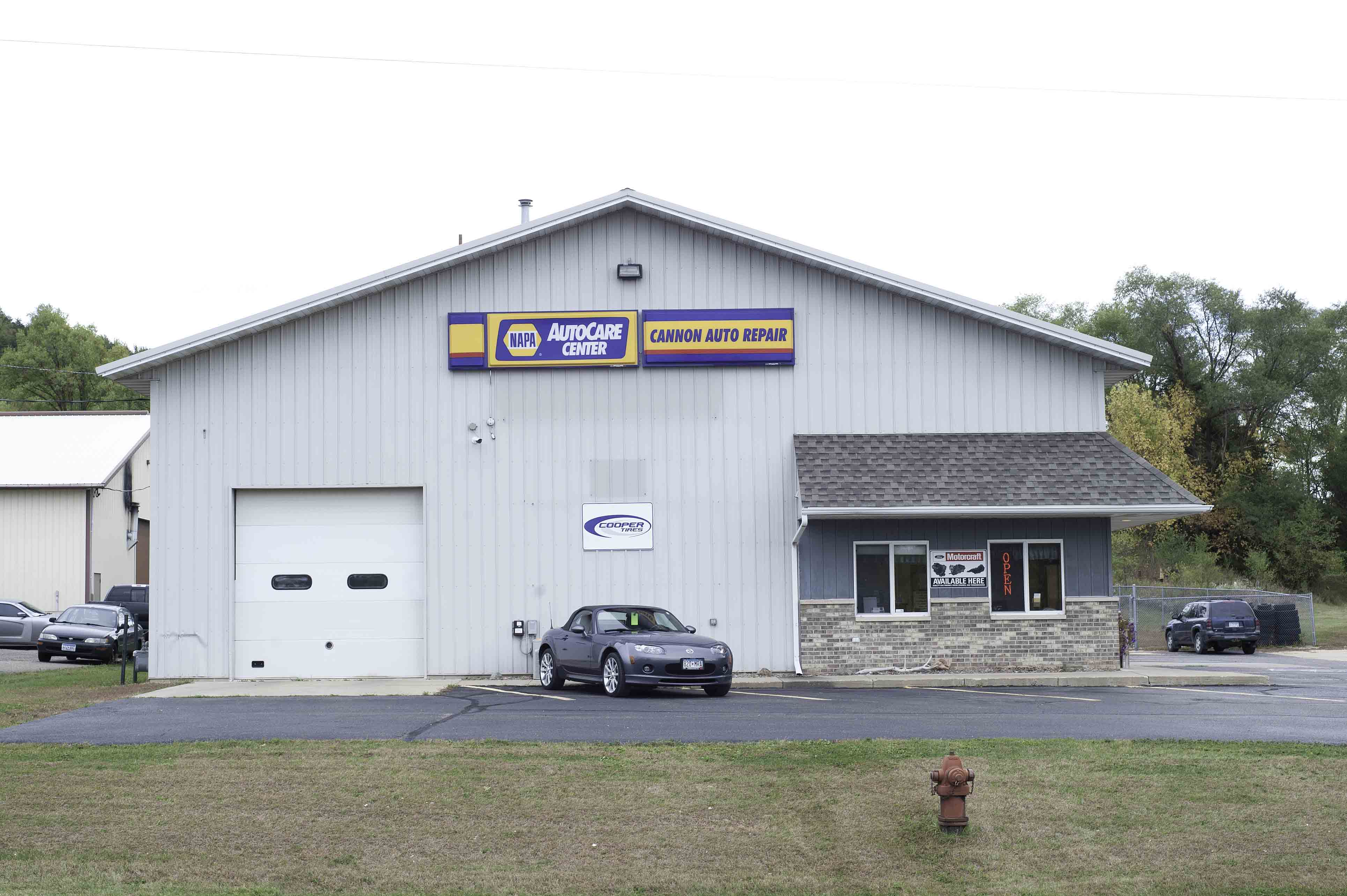 Auto Shop Outside Front View